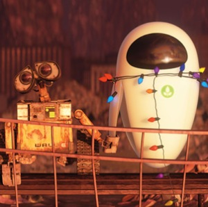 Wall-E e EVA, o casal do ano